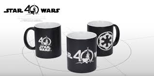 new star wars 40th anniversary coffee mugs from sd toys outer