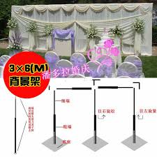 wedding backdrop buy 3m 6m wedding stainless steel pipe 10ft h by 20ft w wedding