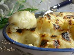 cuisine chou gratin de chou fleur amour de cuisine