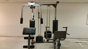 Weider Pro Bench Weider Pro Power Stack Home Gym Ebay