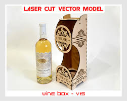 wine vector wine box wood wine box plywood wine box laser cut vector model