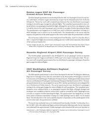 Questionnaire For Home Design by Appendix F Sample Questionnaires For Passenger Surveys