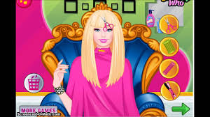 new barbie games for kids barbie prom haircuts youtube