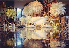 Ostrich Feathers For Centerpieces by 2017 Ostrich Feather Plume For Wedding Centerpiece Christmas