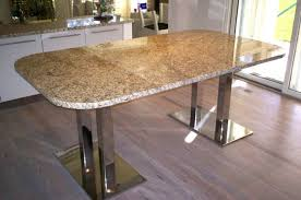 dining table bases for marble tops granite table base ideas metal dining slab chevron legs by