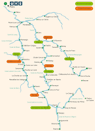 Burgundy France Map by Boat Hire In West Burgundy Boating Holidays