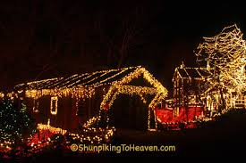 clifton ohio christmas lights shunpiking to heaven the legendary lights at clifton mill