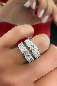 girl wedding rings images 36 beautiful wedding ring sets for your girl oh so perfect proposal jpg