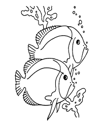 printable 28 tropical fish coloring pages 5126 tropical fish
