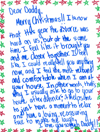 this christmas letter from a daughter to her dad proves the best