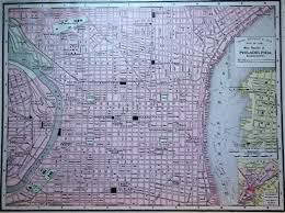 map of philly map of philadelphia 1900