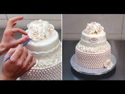 wedding cake roses roses pearls cake wedding cake idea by cakes stepbystep