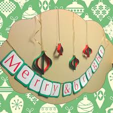 12 days of christmas crafts day 4 merry u0026 bright all that glitters