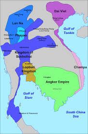 Southeast Asia Map Quiz by Sukhothai Kingdom Wikipedia