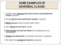 11 syntax clauses