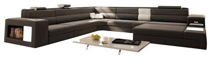 Italian Sectional Sofas by Polaris Gray Italian Leather Sectional Sofa Sectional Sofas By