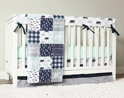 crib bedding sets etsy