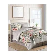 Tropical Comforter Sets King Palm Island Home Tropical Fusion Pc Bedding