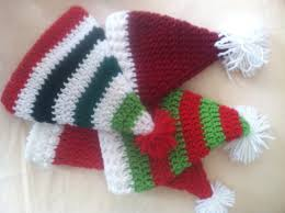 santa hats crochet free pattern u2013 family bugs blogging