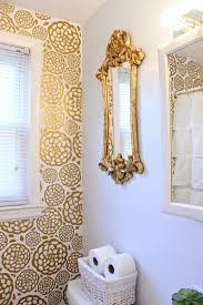 glam bathroom ideas gold glam bathroom makeover