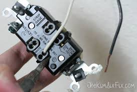 how to replace electrical outlets using quickwire push in