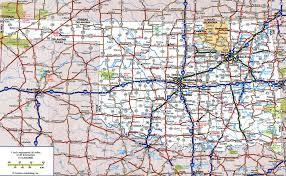 Route 66 Map Highway And Road Of Oklahomafree Maps Of Us