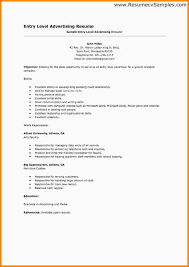 Entry Level Finance Resume Examples by How To Make An Entry Level Resume