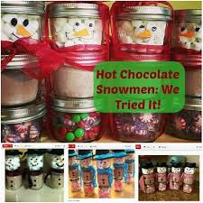 hot chocolate gift ideas hot chocolate snowmen a gift kids will to make