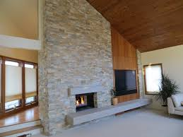 Tiled Fireplace Wall by Albaugh Masonry Stone And Tile Masonry Contractor Mi Masonry
