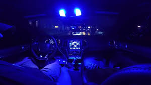 purple jeep interior blue led light swap jeep srt interior youtube