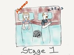 I Have To Go To The Bathroom The Five Stages Of Going To The Bathroom In The Middle Of The Night
