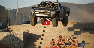 monster trucks videos 2014 video watch a baja champ play with his 800 bhp monster trophy