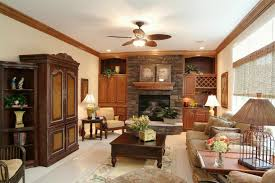 Classic Livingroom Classy Rustic Living Room Interior With Modern Elements 13714