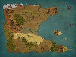 Narnia Map Continent Of Aritheel The World Is Flat Like Narnia So Other