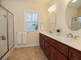 3 4 bathroom with double sink u0026 limestone in pinehurst nc