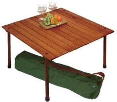 Folding Wood Picnic Table Outdoor Folding Wooden Picnic Table In A Bag Outdoor Folding Table