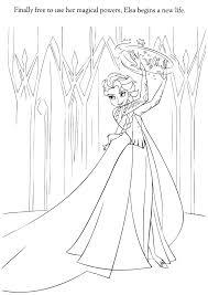 frozen coloring pages elsa coronation frozen coloring page xochi info