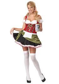 Beer Maid Wench Costume Oktoberfest Couple Gretchen German Fancy by Womens Bavarian Bar Maid Costume Alpine Cutie Pinterest Costumes