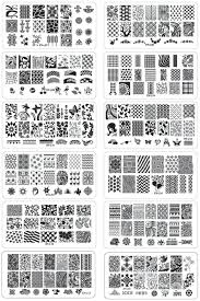 online shop 12pcs lot christmas nail art stamping plates manicure