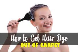 how to get hair dye stains cabinets how to get hair dye out of carpet fast and easy