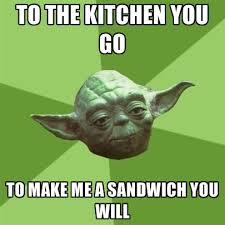 Make Me A Sandwich Meme - to the kitchen you go to make me a sandwich you will create meme