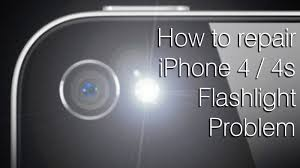 turn light on iphone how to fix iphone 4 4s flashlight problem destructive fix youtube