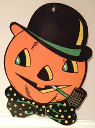 tin halloween decorations images of vintage halloween decorations reproductions nice