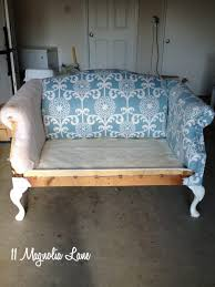 Couch Upholstery Cost Reupholstery 101 My Thrift Store Loveseat Redo Part 2 Tutorial