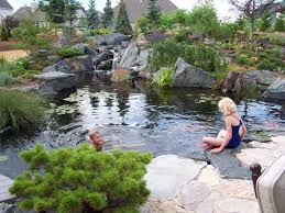 trends in backyard design water features are enjoying a rippling
