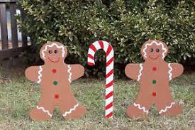 christmas yard gingerbread yard decorations ebay
