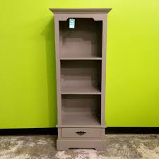 Single Bookcase Narrow Bookcase With Single Drawer Nadeau Indianapolis