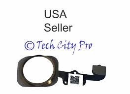 iphone 6s u0026 6s plus gold home button touch id sensor flex cable w