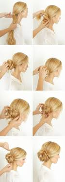 hair buns graceful and beautiful low side bun hairstyle tutorials and hair