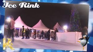 ruxley manor garden centre ice rink youtube